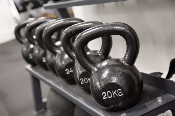 The Fitting Rooms Southwark Gym in london bridge - The Fitting Rooms Gym Kettlebell Training