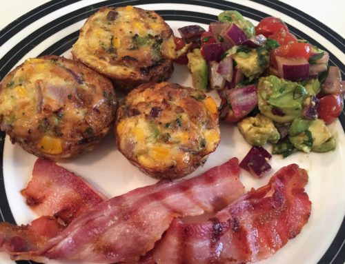 Healthy, low-carb recipe – broccoli and cheese egg cups
