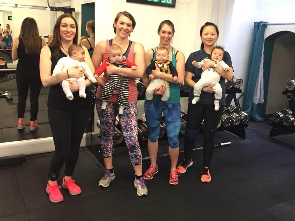 Post Natal Conditioning workout for mums and babies