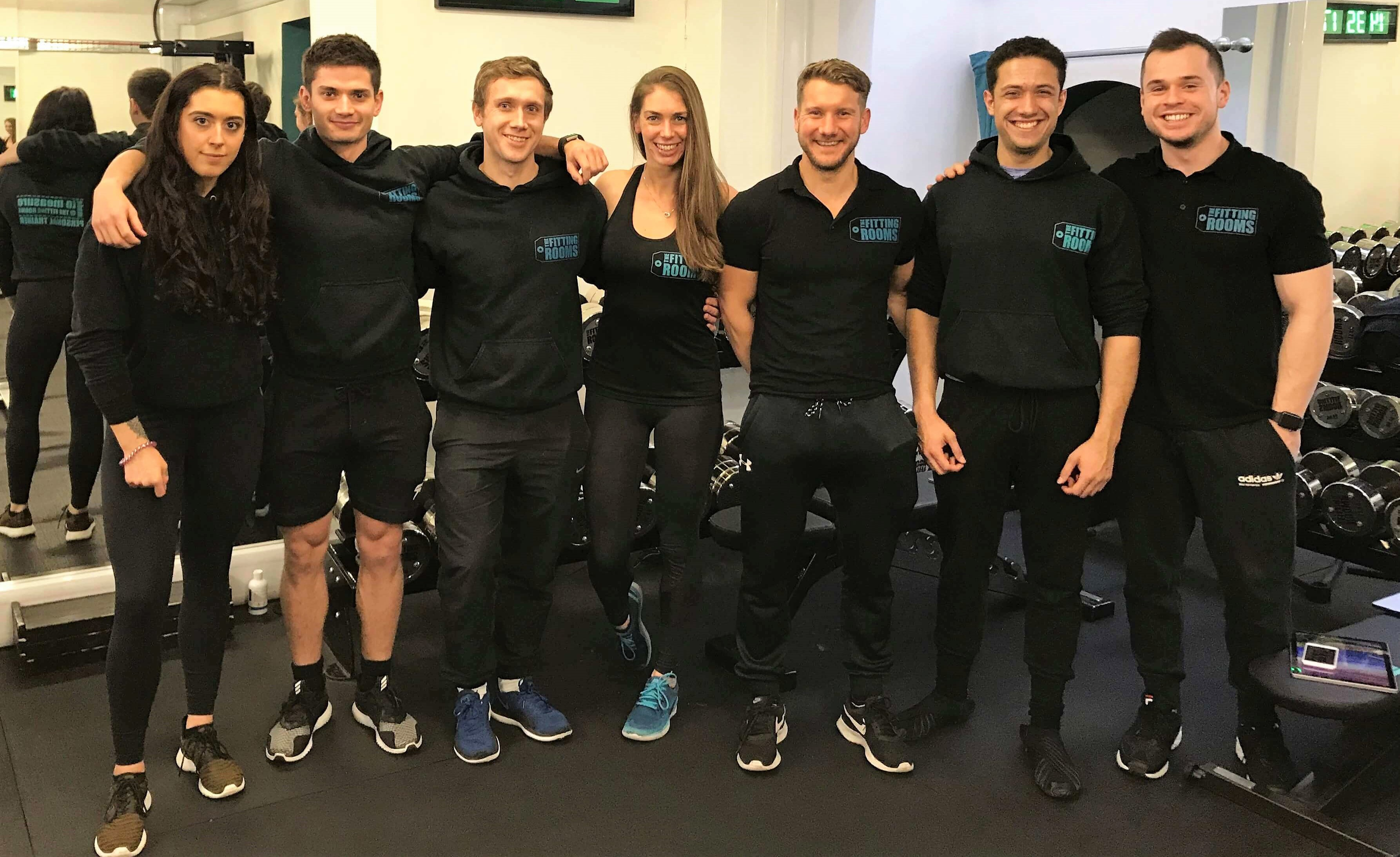 The Fitting Rooms Personal Trainers in London Bridge 2018