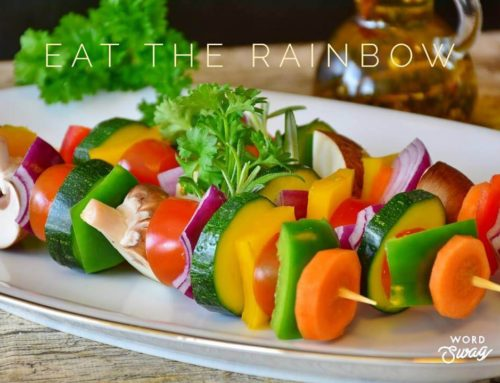 Eat the rainbow to improve your health!