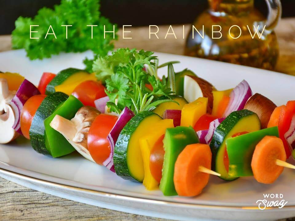 Eat the rainbow for optimal health