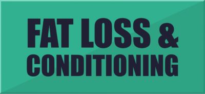 Fat Loss & Conditioning Sign Up Button