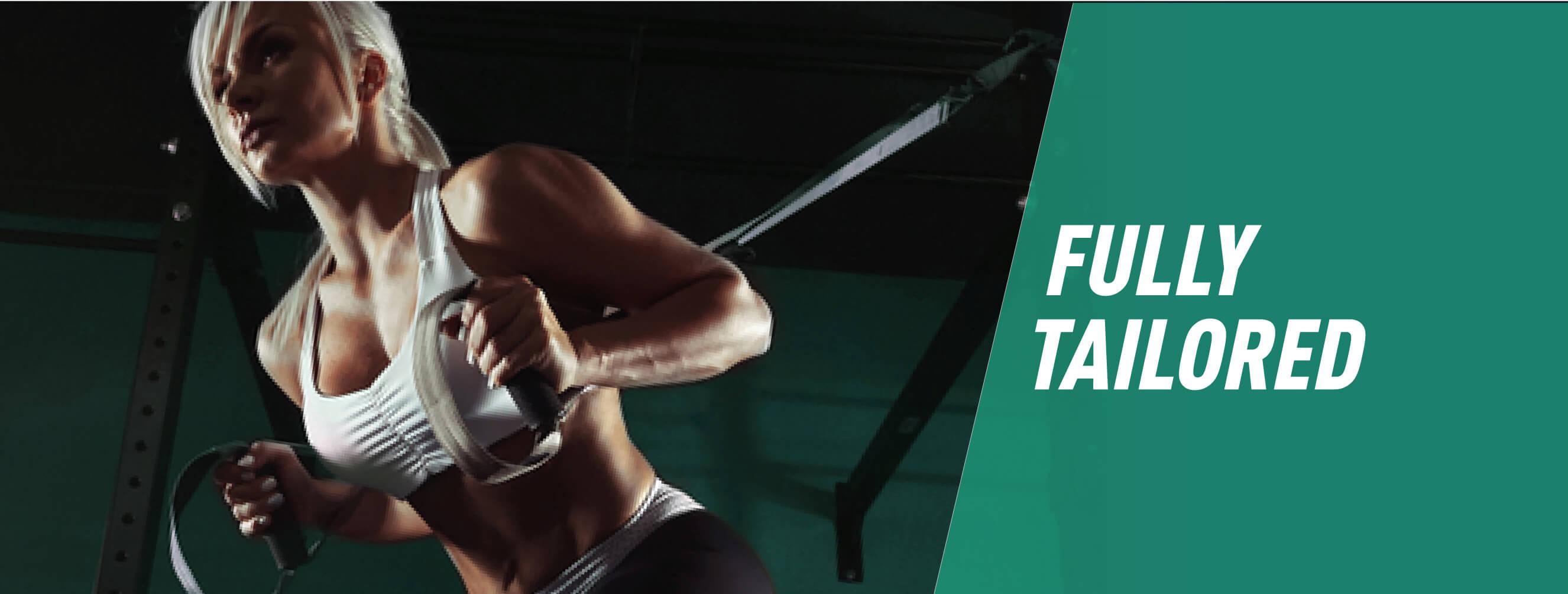Fully Tailored Online Training Programme - Female Banner