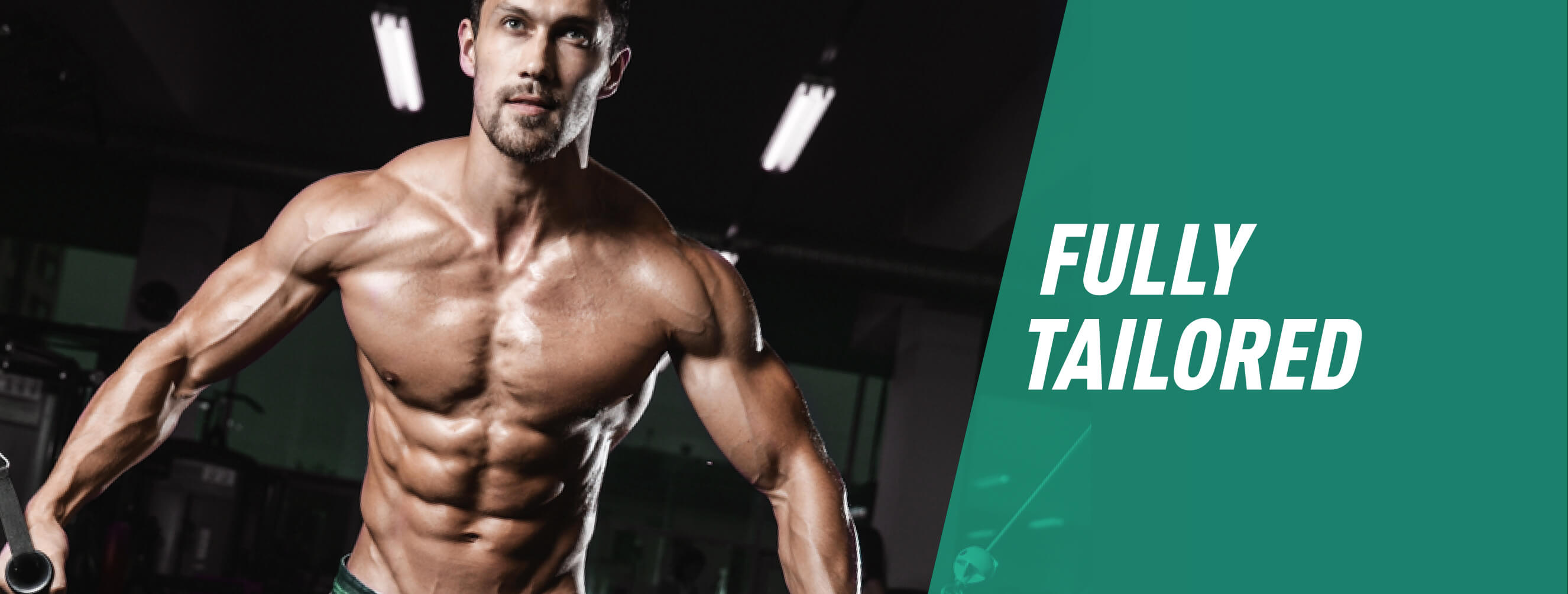 Fully Tailored Online Training Programme - Male Banner