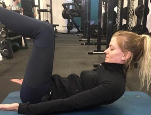 Try the Hollow Hold exercise for a rock solid core!