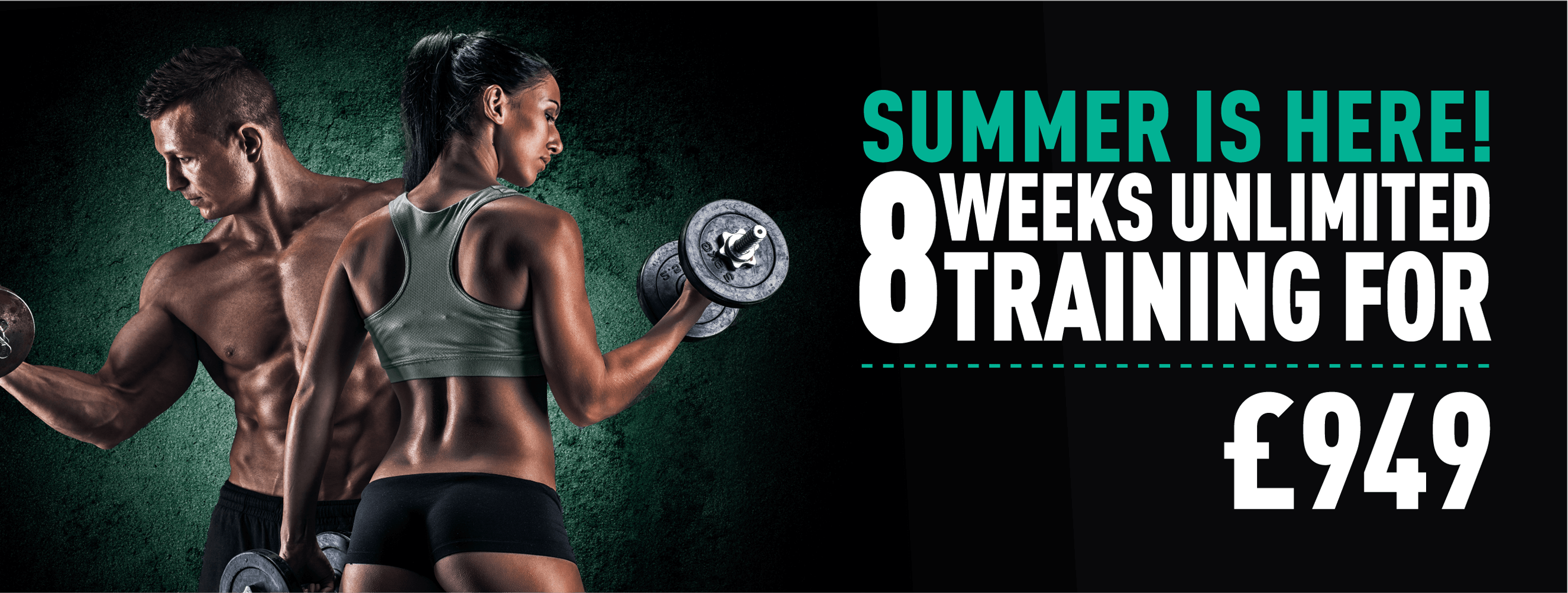 Shape up thi summer with umlimited shared personal training