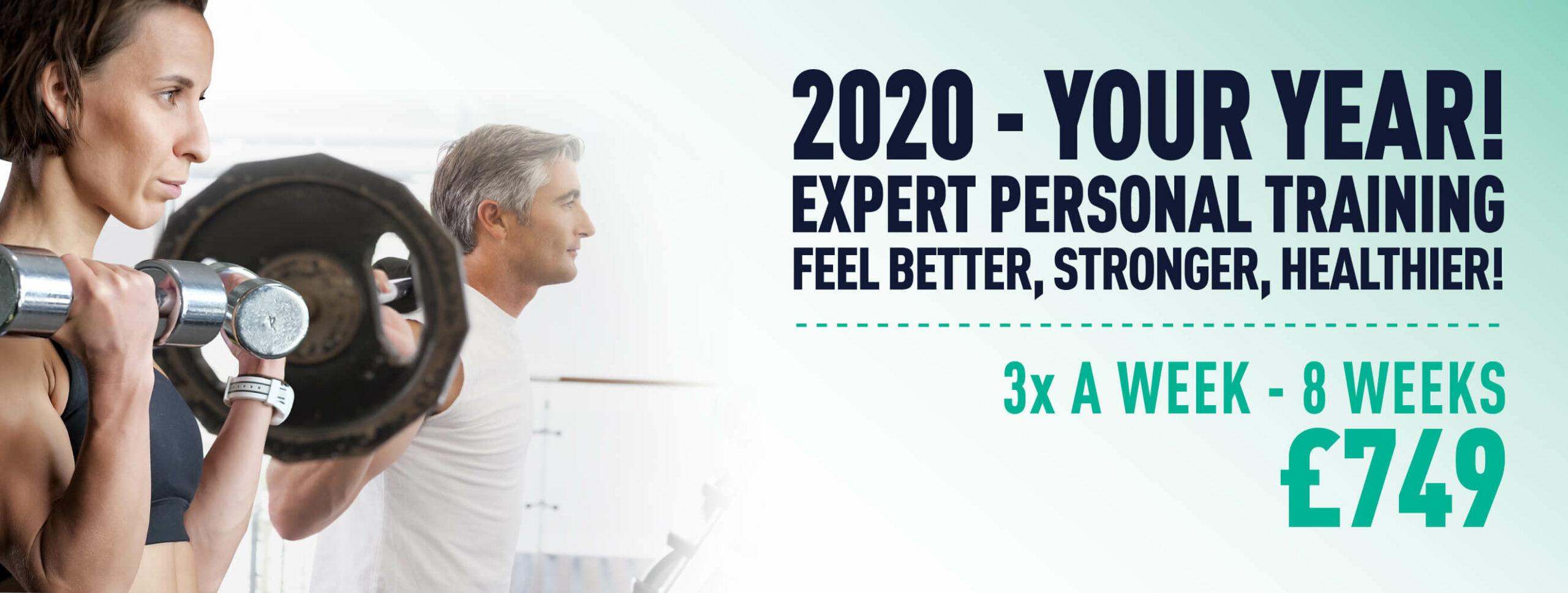 New Year Personal Training Deal - 2020 Kick Start