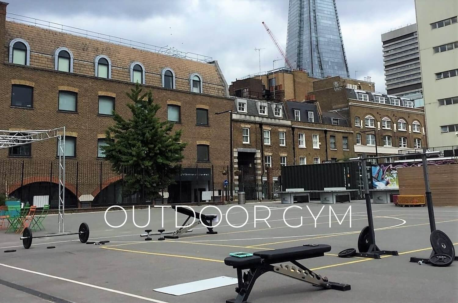 Outdoor Gym in London Bridge